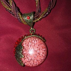 Jewelry - Stunning Stone Pendant